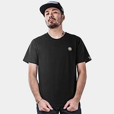HEA中国风醒狮元素刺绣棉短袖T恤