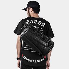 高桥石尚原创街头潮流双肩包潮男旅行包袋
