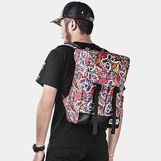 HEA原创设计街头潮流潮男双肩背包休闲包袋