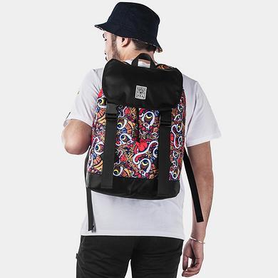 原创设计街头潮流潮男双肩背包休闲包袋