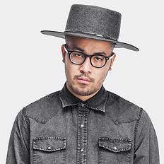 響【爆】绅士帽爵士帽潮男复古小礼帽遮阳休闲舞台帽子