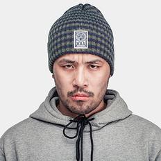 HEA条纹保暖毛线帽