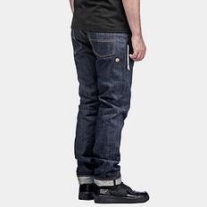 HEAACU联名合作款醒狮元素原色牛仔裤