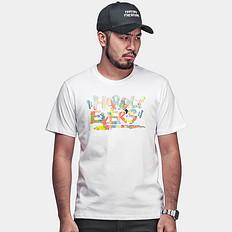 【清】【HOT】品牌LOGO圆领短袖T恤