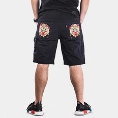 HEA【爆】狮子头刺绣休闲短裤