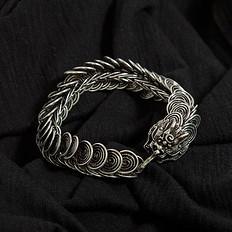 银鳞堂白铜手链