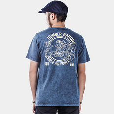 HE75 DENIM美式复古短袖T恤
