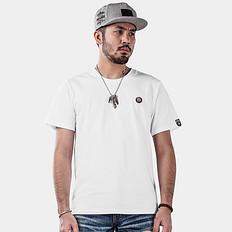 HEA【HOT】中国风醒狮刺绣棉短袖T恤