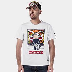 HEA1626大富翁联名合作短袖T恤