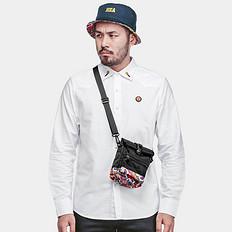 HEA原创设计街头潮流醒狮潮男单肩斜跨休闲包袋