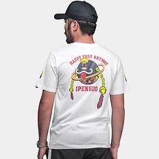 HEA怪企鹅合作款醒狮元素短袖T恤