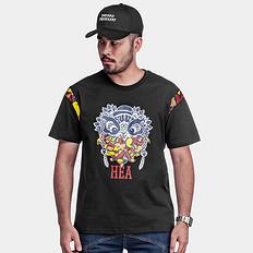 HEA醒狮数码印花T恤