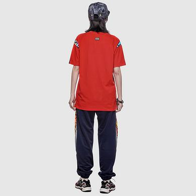 潮牌原创中国风醒狮元素狮子头印花男女同款短袖T恤