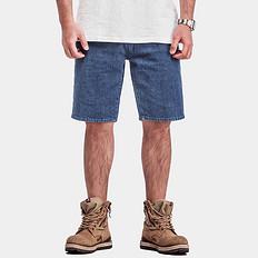 HE75 DENIM【特惠】国潮洗水复古休闲短裤