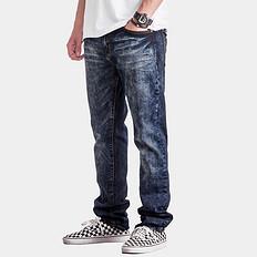 HARDLY EVER'S做旧微弹重工艺洗水牛仔裤