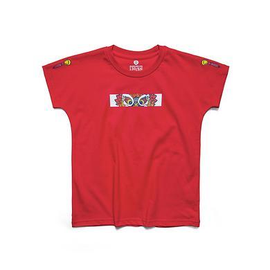 街头潮流醒狮元素童装T恤