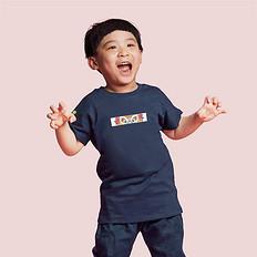 HEA街头潮流醒狮元素童装T恤