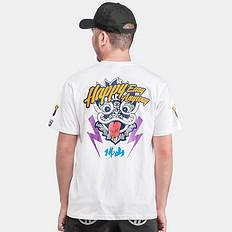 HEA原创国潮中国风醒狮印花短袖T恤