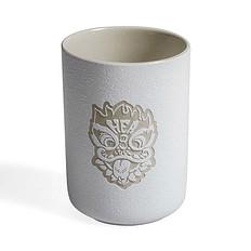 HEA中国风狮子头陶瓷杯