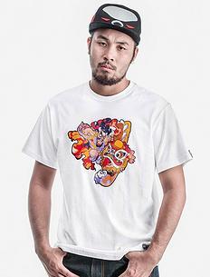 中国风潮流T恤《烈山氏》合作款