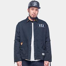 HEA原创潮牌中国风醒狮刺绣长袖衬衫薄外套
