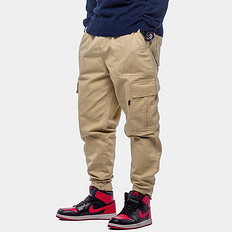 HARDLY EVER'S潮牌原创复古大码男装哈伦风束腰休闲工装裤长裤