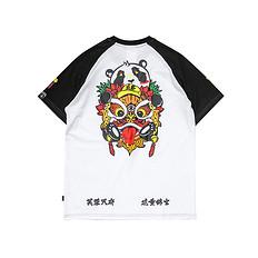 HEA原创设计中国风小狮子印花短袖T恤成都款