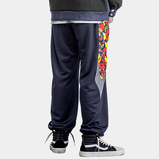 HEA中国风撞色醒狮迷彩3M反光休闲裤