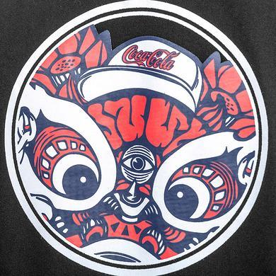 HEA&可口可乐收藏联名中国风醒狮印花短袖T恤
