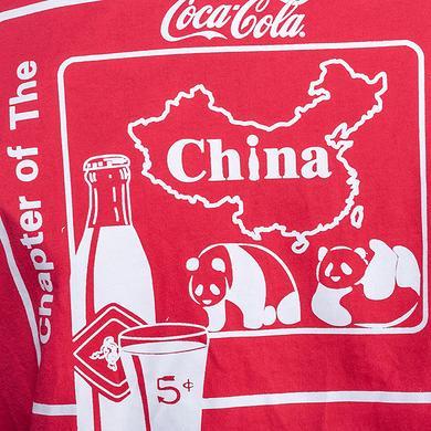 HEA&可口可乐收藏联名中国风印花短袖T恤