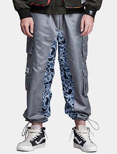 原创潮牌中国风多口袋工装防风休闲裤