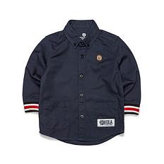 HEA原创潮牌中国风大码休闲纯棉童装衬衫