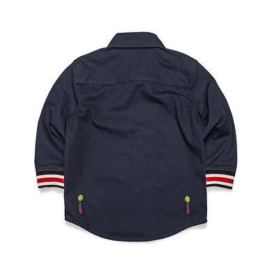 原创潮牌中国风大码休闲纯棉童装衬衫