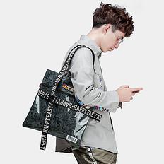 HEA原创潮牌中国风刺绣手提包单肩包