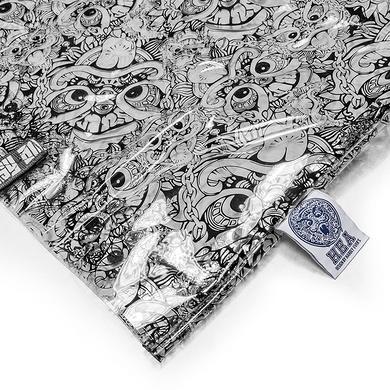 原创潮牌设计迷彩透明单肩包手提包