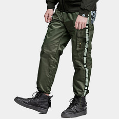 HEA原创潮牌设计醒狮印花多口袋休闲裤