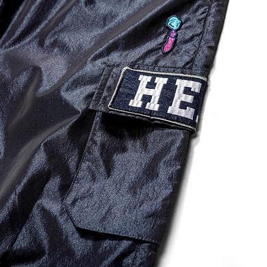 原创潮牌设计醒狮迷彩拼接工装休闲裤