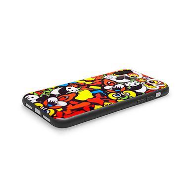 原创设计迷彩醒狮印花手机壳(IPHONE XR 6.1寸)