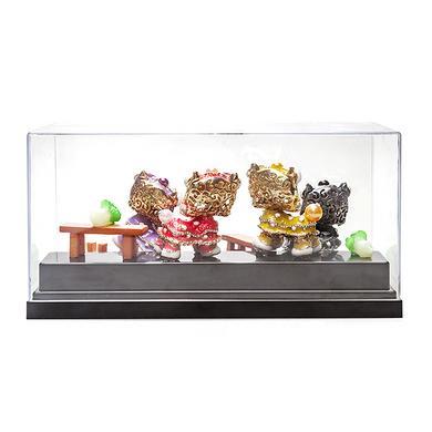 【爆】个性创意送礼品客厅卧室装饰品电视柜书桌小狮子摆件