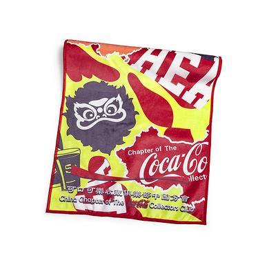HEA&可口可乐收藏联名中国风醒狮迷彩速干毛巾