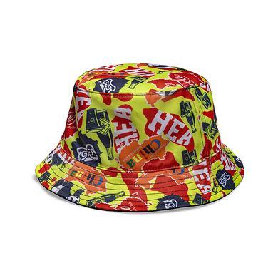 HEA&可口可乐收藏联名中国风醒狮迷彩渔夫帽