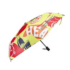 HEAHEA&可口可乐收藏联名中国风醒狮迷彩全自动折叠雨伞