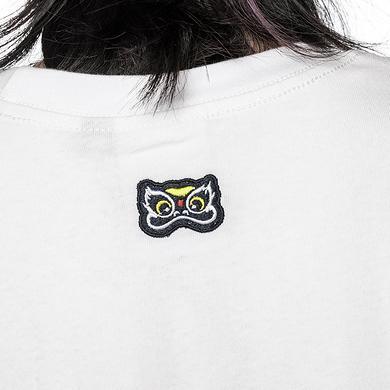 原创设计中国风醒狮元素迷彩渔夫帽