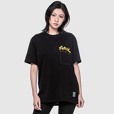 银鳞堂潮牌原创中国风后无来者大版印花男女同款短袖T恤