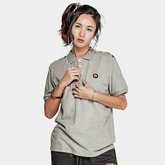 HEA潮牌原创中国风醒狮元素印花男女同款短袖Polo衫