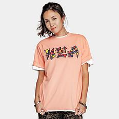 HEA潮牌原创醒狮元素迷彩字母印花男女同款短袖T恤