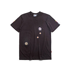 HEA潮牌原创醒狮元素刺绣胸袋印花男女同款短袖T恤