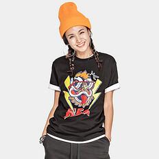 HEA潮牌原创中国风醒狮元素狮子头印花男女同款短袖T恤