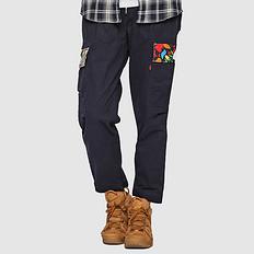 HEA潮牌原创设计醒狮元素多口袋刺绣男女同款休闲裤
