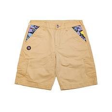 HEA原创中国风醒狮元素刺绣狮子头休闲短裤